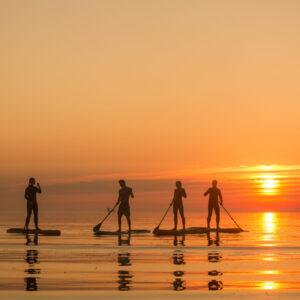 Päikeseloojangu SUP Surftownis