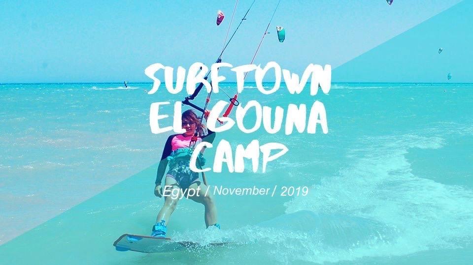Surftown El Gouna Camp November 2019