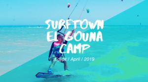 Surftown El Gouna Camp April 2019
