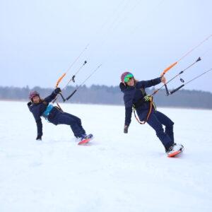 Surftown snowkite koolitus