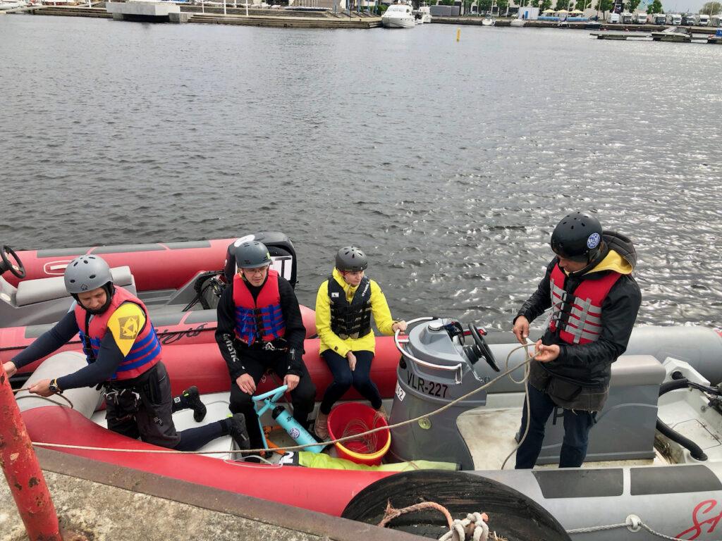 iko kitesurf instructor couse Tallinn