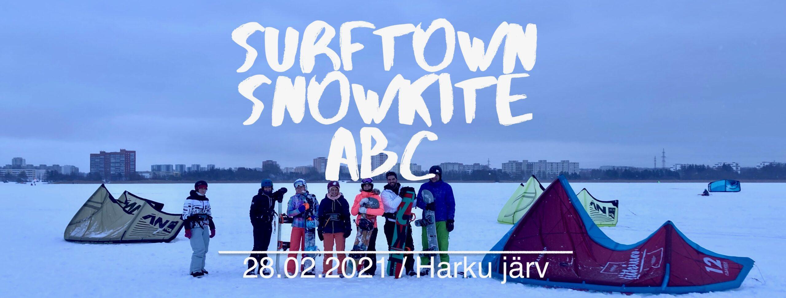 Snowkite ABC