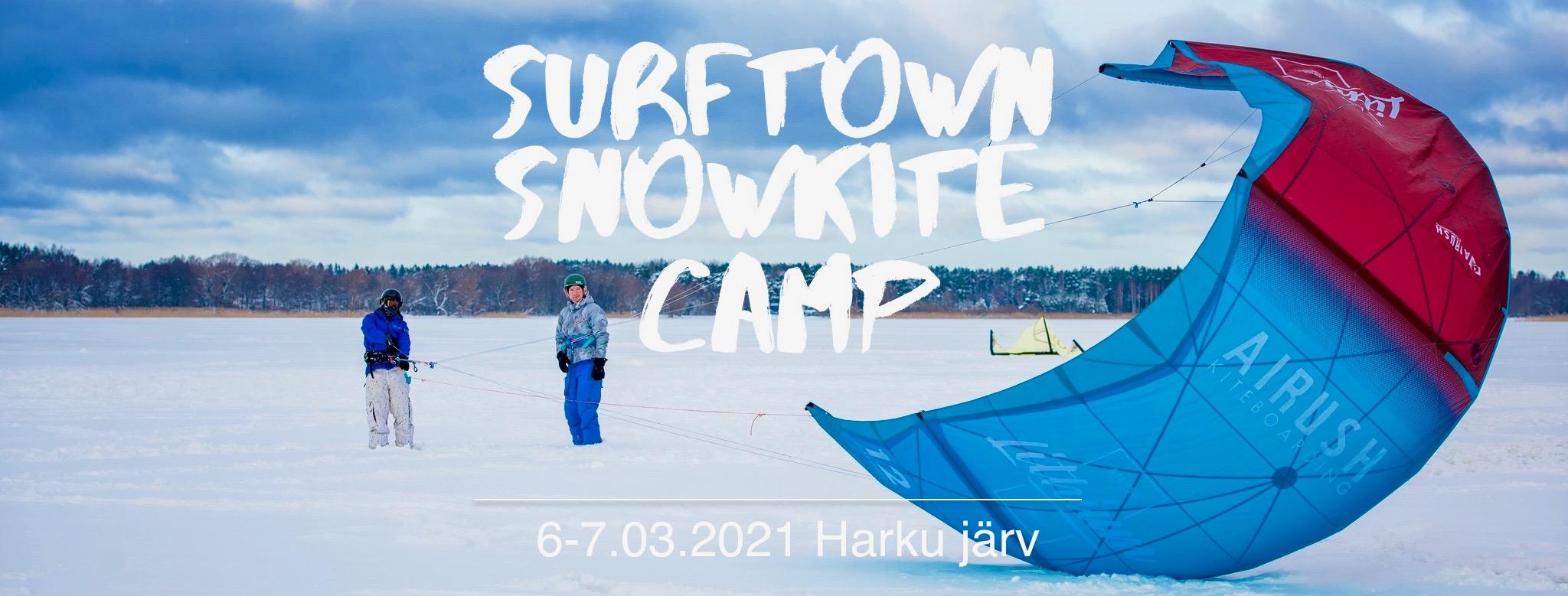 Snowkite Camp EN