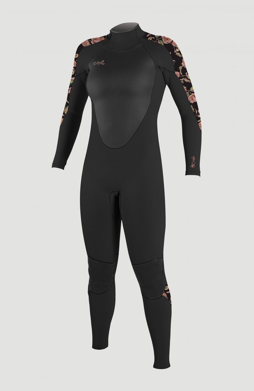 O'neill Epic 5/4 Black Floral
